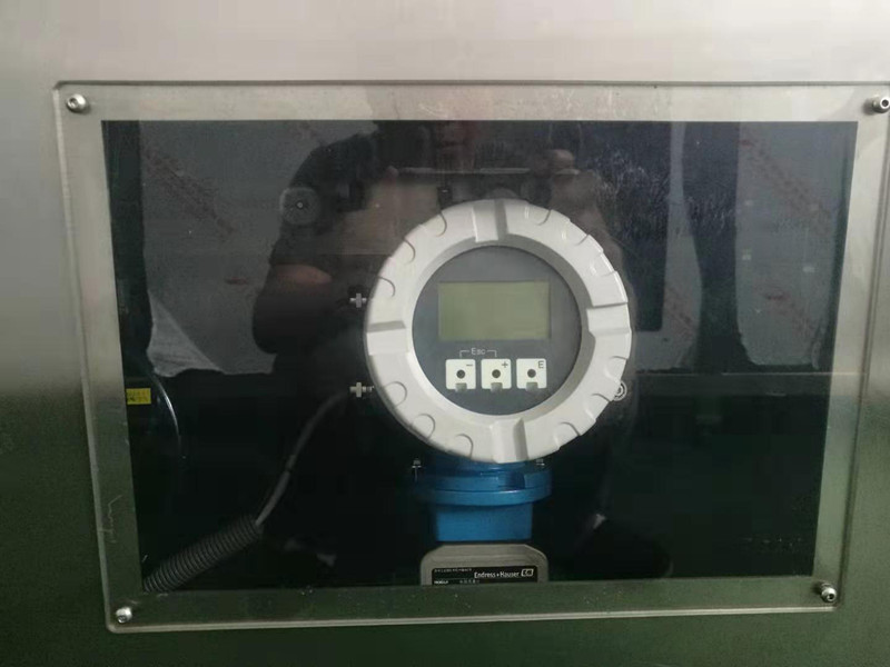 The relationship of flow meter and BIB filling machine